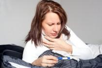 Halsschmerzen: Symptom einer Erkältung